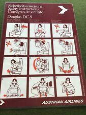 safety card austrian dc 9