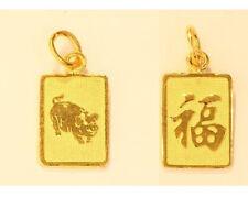 chinese sign charm # 43 22k 22kt pendant zodiac pig