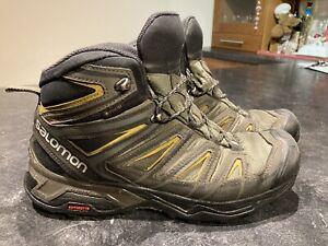 Salomon X Ultra 3 Mid Goretex Men's Hiking Boots Size UK 8