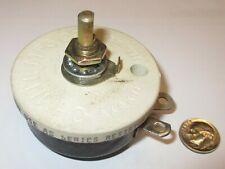 1000 Ohm 50 Watt Wire Wound Rheostat Ohmite Model Rjs Nos 1 Pcs