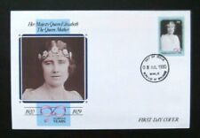 Maldives-1990-Queen Mother's 90th Birthday FDC-Male