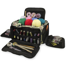 Knitting Bag, Sewing Accessories And Craft Needle Storage, Glamour Bag In Paris