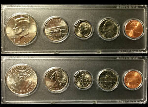 2001 Year Coin Set Half Quarter Dime Nickel Cent in a Whitman Holder