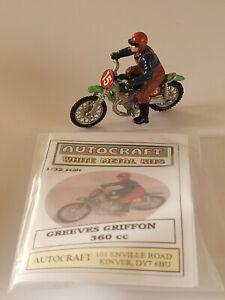 1/32 scale 54mm Greeves Griffon 360cc motorcycle / motorbike metal model kit