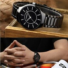 Fashion Luxury Stainless Steel Analog Quartz Wrist Watch for Women/Men