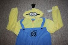 Adult L/XL Minions Despicable Me Outfit Pajamas PJs Despicable Halloween Costume