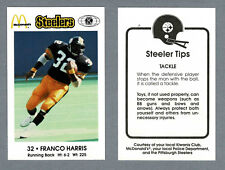 1984 Pittsburgh Steelers Police Set (16), Mint, Complete, Harris, Malone...