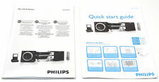 Original Instruction Manuals for the Philips Mcm704D Micro Hi-Fi Stereo System