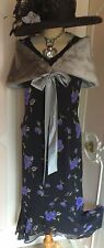 New+Tags JACQUES VERT Evening DRESS & FUR WRAP Suit Mother of the Bride Size 16