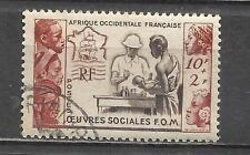 Q661-SERIE COMPLETA COLONIA FRANCIA AFRICA OCCIDENTAL FRANCAISE.Nº45. 7,75€YVERT