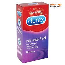 12 Préservatif Durex Intimate Feel - pour un maximum de confort et de sensations