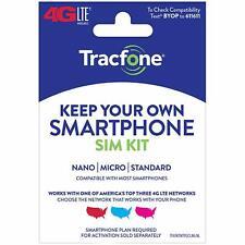 Tracfone Keep Your Own Phone 3-in-1 Prepaid Sim Card Kit - Mini Pack