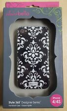Clairebella Elibrium 365 Case For iPhone 4 And iPhone 4S Cover Black 2E