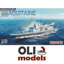 1/700 French Navy D650 AQUITAINE FREMM Multipurpose Frigate Freedom Models 83001