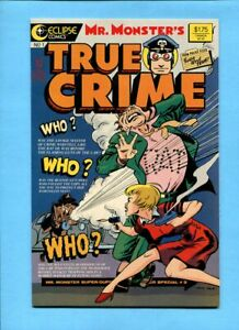 Mr. Monster's True Crime Comics #1 Eclipse Comics 1986 Jack Cole Reprints