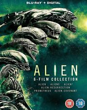 ALIEN 1-6 Six Film Collection Blu-Ray Set BRAND NEW Free Ship
