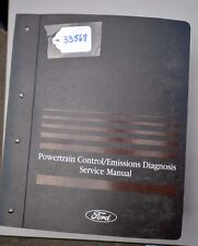 Ford 2002 Powertrain/Emissions Serivce Manual Car/Truck (Inv.33567)