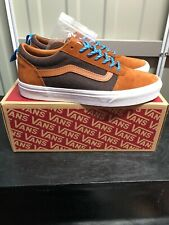 VANS Ward Outdoor, Ginger Brown / White Uk Size 7 New In Box