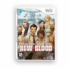 Trauma Centre - New Blood For PAL Wii (New & Sealed)