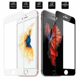 For iPhone 6 6s 7+ 8 Plus Models Full Cover 3D Tempered Glass Screen Protector