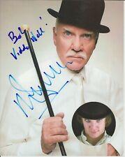 "Clockwork Orange Malcolm McDowell Autograph 8""x10"""