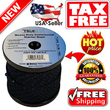 Starter Pull Rope 100ft Snow Blower Lawn Mower Cord Engine Recoil Solid Braid