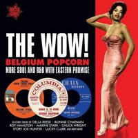 THE WOW! BELGIUM POPCORN Various NEW & SEALED NORTHERN SOUL CD (OUTTA SIGHT) R&B