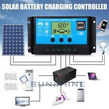 30-60A MPPT Solar Panel Regulator Charge Controller Auto Focus Tracking 12V/24V