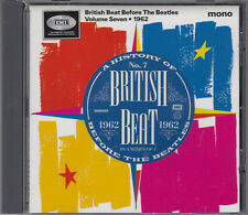 British Beat Before The Beatles Vol 7 1962 Mono CD Shadows Marty Wilde Joe Brown