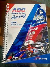 2019 A.J. Foyt Racing Media Guide - Tony Kanaan - Matheus Leist - IndyCar