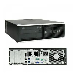 HP Prodesk 6300 SFF Desktop PC i5-3470 3.2GHz 8GB Ram 250GB HDD WIn10 pro