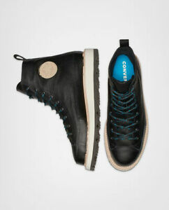NIB*Converse Crafted Boot Chuck Taylor*Mens*Black* Size 8-13*Sneaker