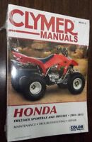 New Clymer Manual Honda 2001-2012 TRX250EX Sportrax & TRX250X M215-2