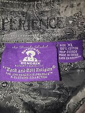 Hendrix The Purple Label Experience Size XL Purple Black Embroidery