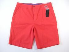 THE MENS STORE CHINESE RED 36 SHORTS MENS NWT NEW