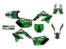 2006 2007 2008 KXF 450 graphics Kawasaki KX 450F sticker kit NO4444 Green