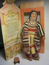"7"" Hallmark Cloth ""Chief Joseph""  Doll  # DT113-4 1979 Has the Box"