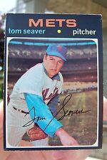 1971 Topps Baseball #160 Tom Seaver - New York Mets