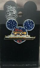 Disney Pin DCL Mickey Head Starry Night Cruise Line Ship Stars Sky Retired #3069