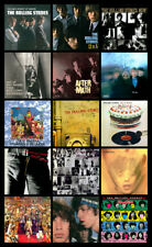 "ROLLING STONES early album discography magnet (4.5"" x 3.5"")"