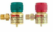 Smith Little Torch Regulator for Disposable Propane & Oxygen Tanks Set of 2