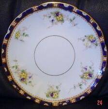 Very Pretty William Lowe Cake Or Biscuit Plate Circa 1901