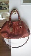 Marc by Marc Jacobs Classic Q Groovee purse/satchel/handbag/shoulder bag ~ brown