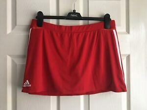 Adidas Climacool Red/White Hockey Skort Size 16 BNWT