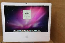"""Apple iMac A1207 20"""" L 2006 2.16GHZ 3GB x1600 250GB HDD OSX 10.6  POLYCARB #8"""