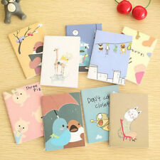 2pcs Mini Cute Journal Diary Pocket Planner Notebook Memo Lovely Stationery Gift