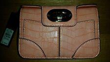 River Island Croc Print Faux Leather Outer Handbags