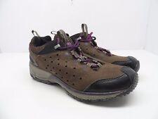 Merrel Women's Avian Light Leather Bracken Hiking Trail Shoe Brown/Purple 7M