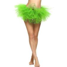 Pretty Girl Tutu Skirts Elastic Stretchy Tulle Dresses Adult Tutu 5 Layer Skirt