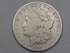 G/VG Better-Date 1900-s US Silver MORGAN Dollar.  #5